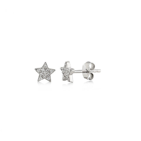 Starlet Sterling Silver Studs