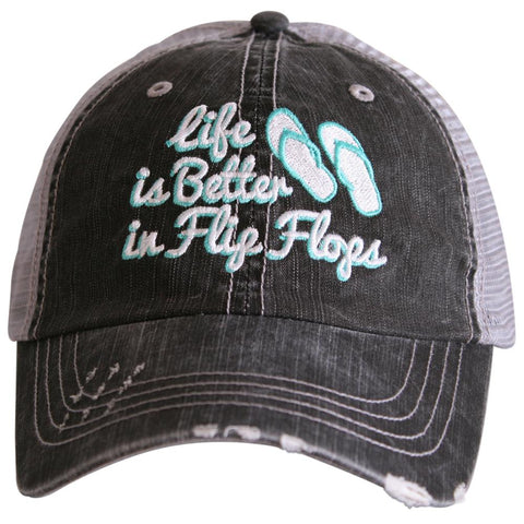 Life is Better in Flip Flops Trucker Hat