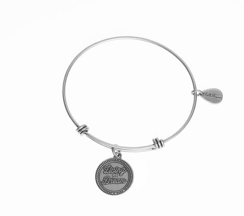 Living The Dream Bangle Charm Bracelet