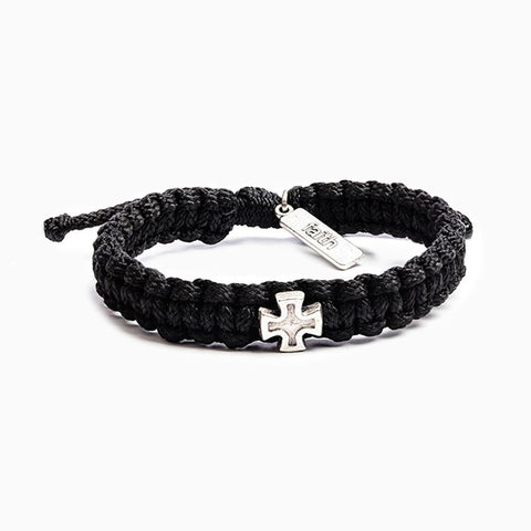 Black Strength Bracelet For Men