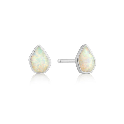 OPAL COLOR STUD EARRINGS