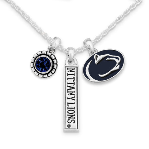 Penn State Trifecta Necklace