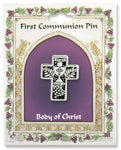 First Communion Cross Pin