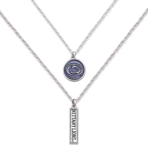 Penn State Double Down Necklace