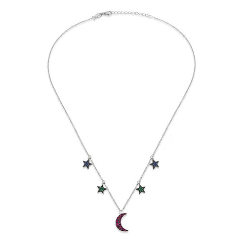 Stella di Luna Sterling Silver Necklace