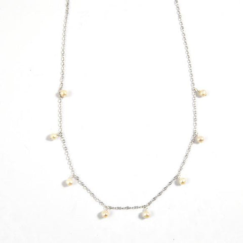Serena Shaker Pearl Sterling Silver Necklace