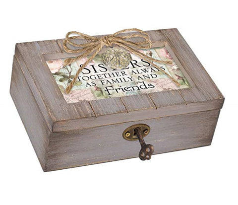 Sisters Together Always Friends Music Box