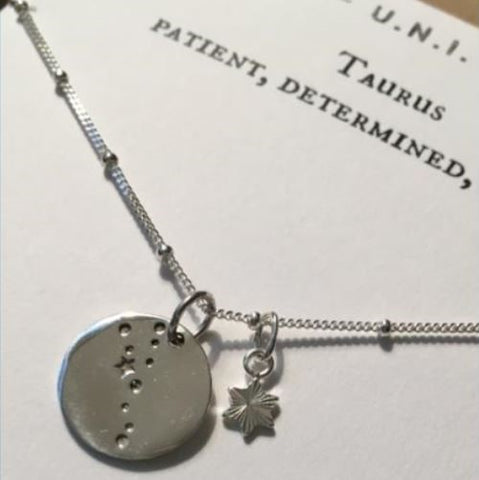 TAURUS: Patient, Determined Necklace