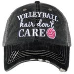 Volleyball Hair Don't Care Trucker Hat