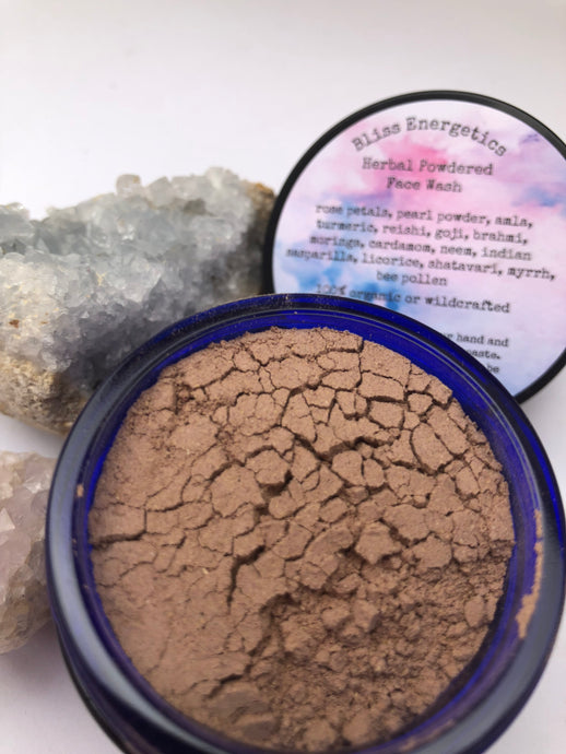 Herbal Powdered Face Wash- For Acne, Beauty, & Skin- Health