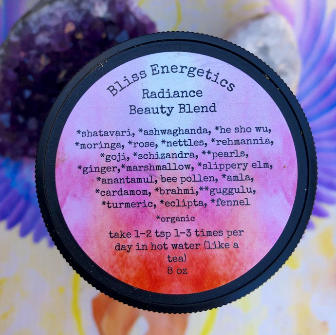 Radiance Beauty - Herbal Blend for Gorgeous Hair, Healthy Skin, and Deep Hydration & Nourishment