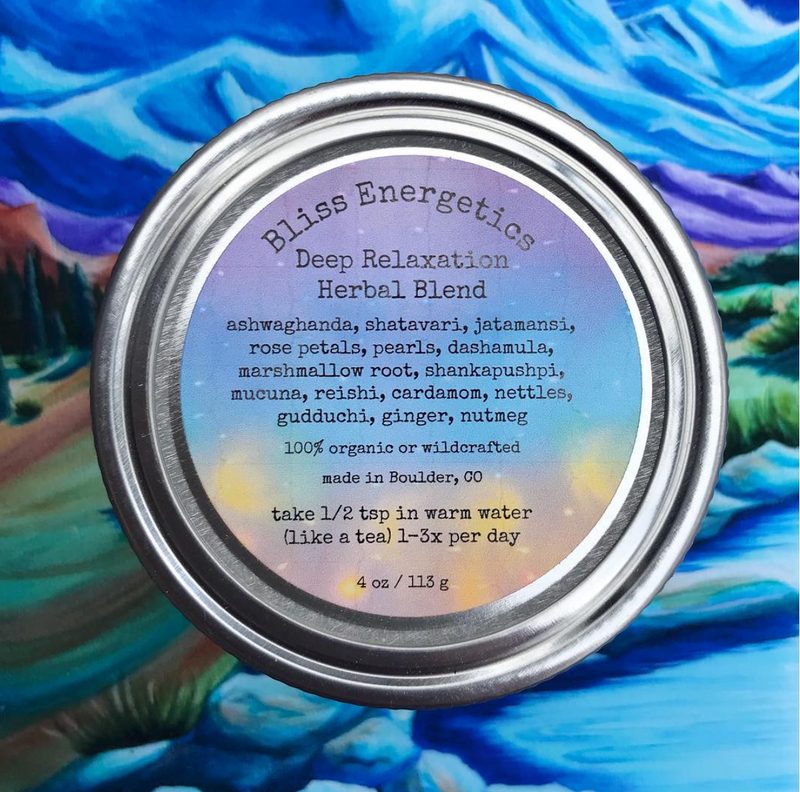 Deep Relaxation- Herbal Blend for Anxiety, Sleep, & Grounding