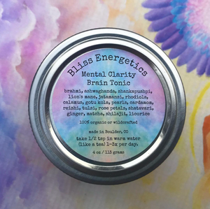 Mental Clarity- Brain Tonic- Herbal Blend to Support Cognition, Memory, and Help Release Addiction