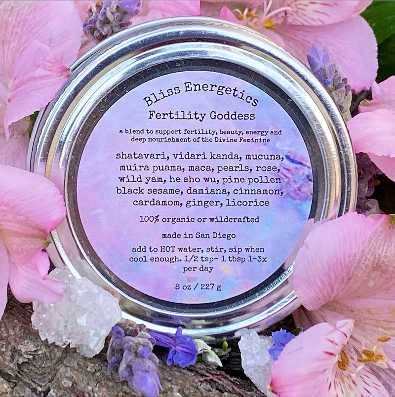 Fertility Goddess- Herbal Blend to Enhance Fertility & Vitality