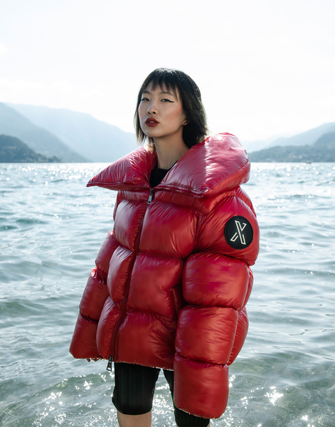 XUMU Pucelle, One Size Giant Puffer Coat, Short, Super Glossy