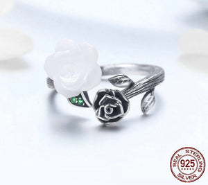Vintage Rose Adjustable Ring