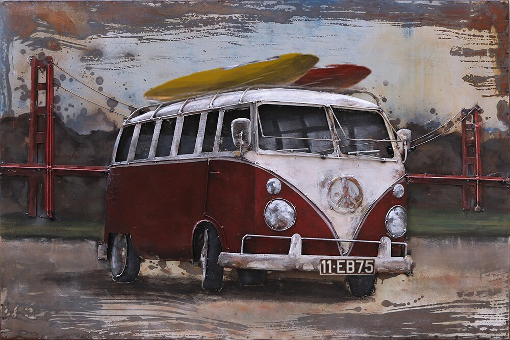 Surf Van 5D Diamond Painting