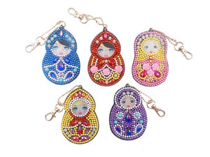 Diamond Painting Keyrings