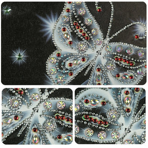 Butterfly 5D Diamond Painting with Special Shaped Rhinestones