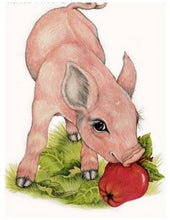 Load image into Gallery viewer, Cute Pigs 5D Diamond Painting Kits