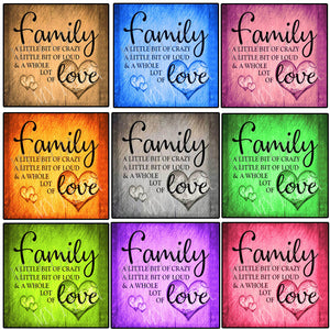 Family Love Letter 5D Diamond Painting Kits