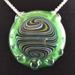 Glass By Who Kryptonite Pendant