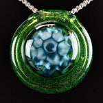 Glass By Who Kryptonite Honeycomb Pendant