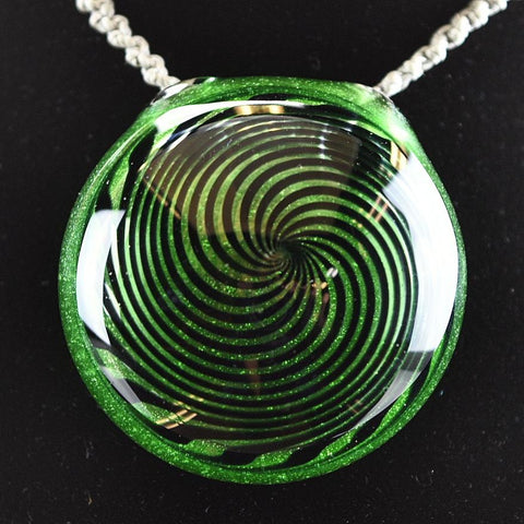 Glass by Who Kryptonite (UV) Pendant