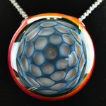 Glass By Who Serendipidty Honeycomb Pendant