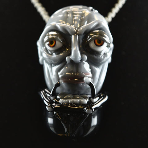 Rocko Darth Vader Without Mask Pendant