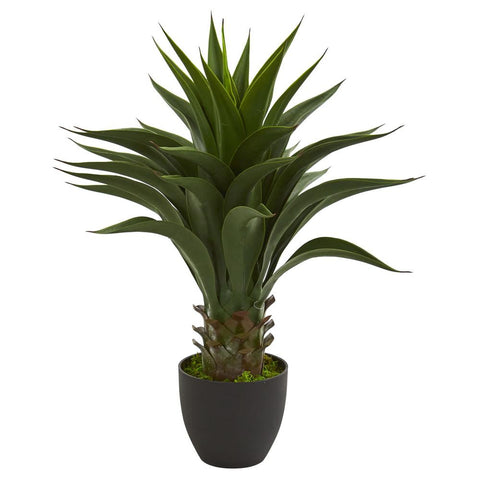 "Image of 28"" Agave Artificial Plant"