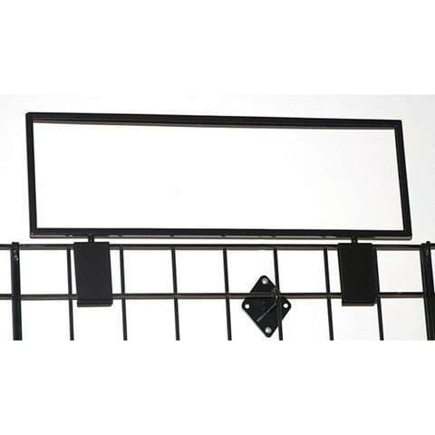 Image of Gridwall Top Sign Holder - Large