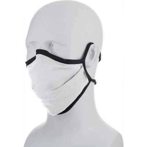 Image of white and black face mask