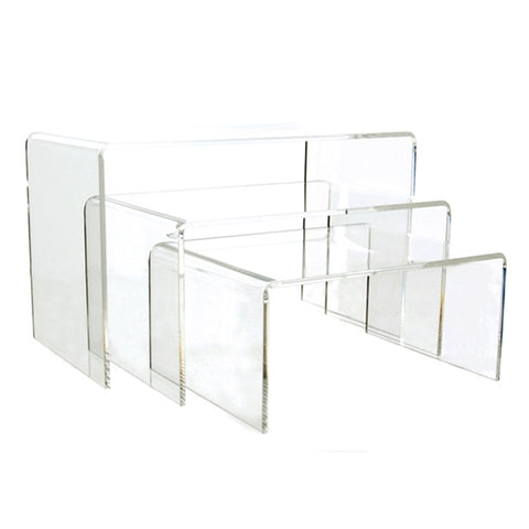 Flat Shoe Risers - Clear or Colors