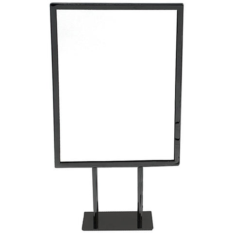 "8 1/2"" x 11"" Metal Counter Sign Frame"