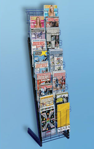 Magazine Rack - 20 Pocket