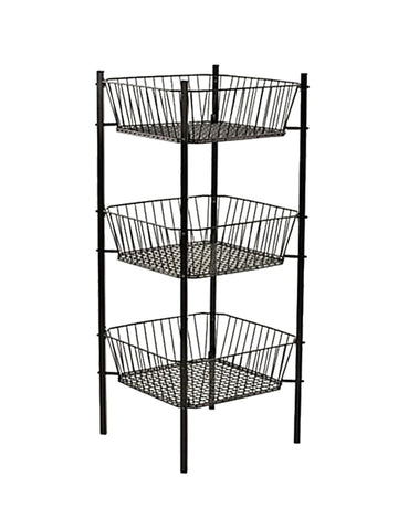 Wire Bins - 3 Tier