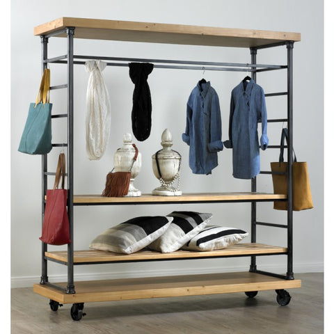 Rolling Shelving Unit
