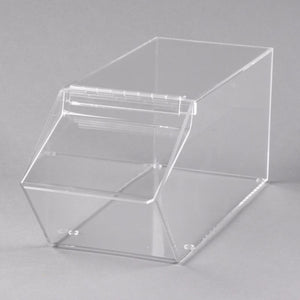 stackable clear bin cal mil
