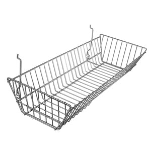Large Double Sloping Basket