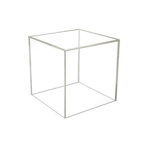 "8"" - 5 Sided Lucite Cube"
