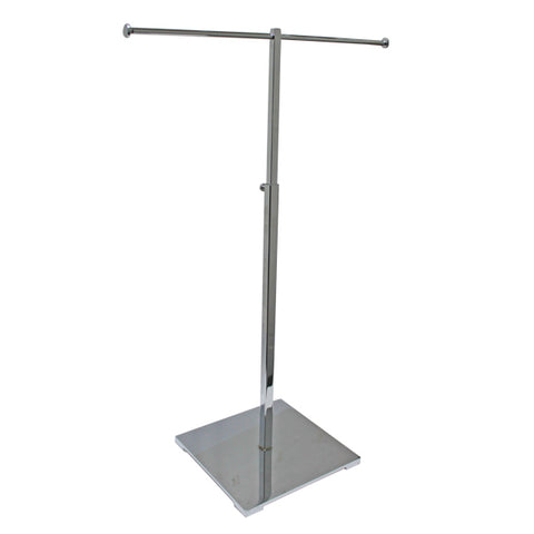 Adjustable T stand chrome