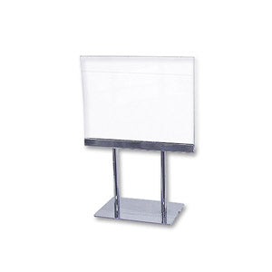 "5 1/2"" x 7""w Lucite Counter Cardframe"