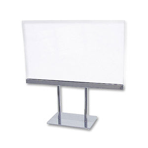 "7"" x 11""w  Lucite Counter Cardframe"