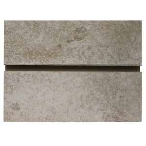 Bleached Cement Slatwall