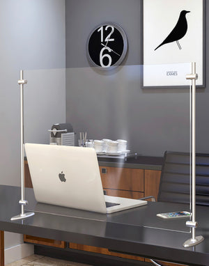 Free Standing Sneeze Guard - Desk Top