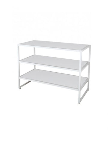 MOD WHITE 3 TIER TABLE