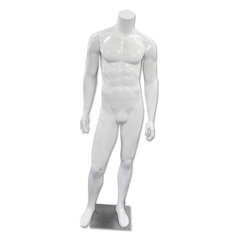 Image of white mannequin