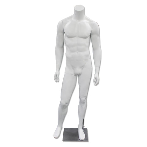 Image of mannequin matte white