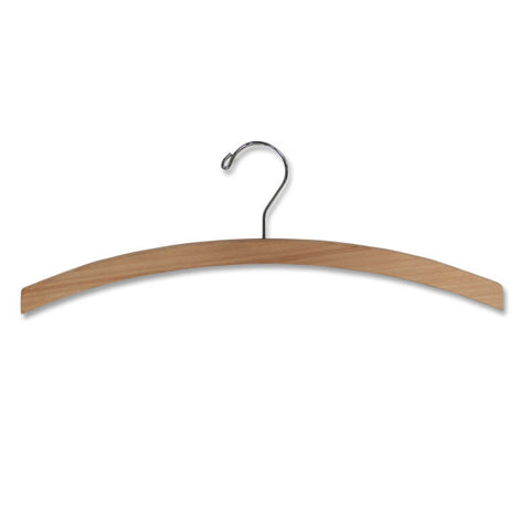 "16"" Wood Dress & Top Hanger"